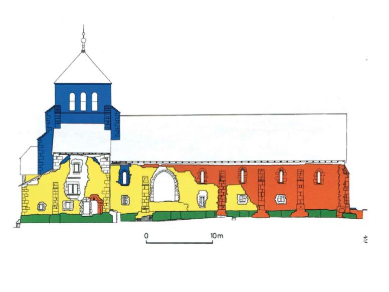 Architecture de l'abbaye de bonmont