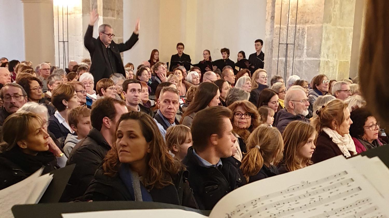concert des vibration de bonbons à l'abbaye de bonmont